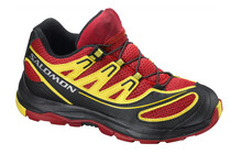 Salomon Kids XA Pro 2 bright red/black/canary yellow
